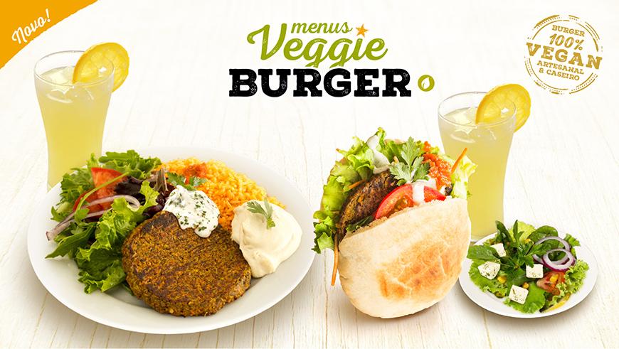 Menus Veggie Burger